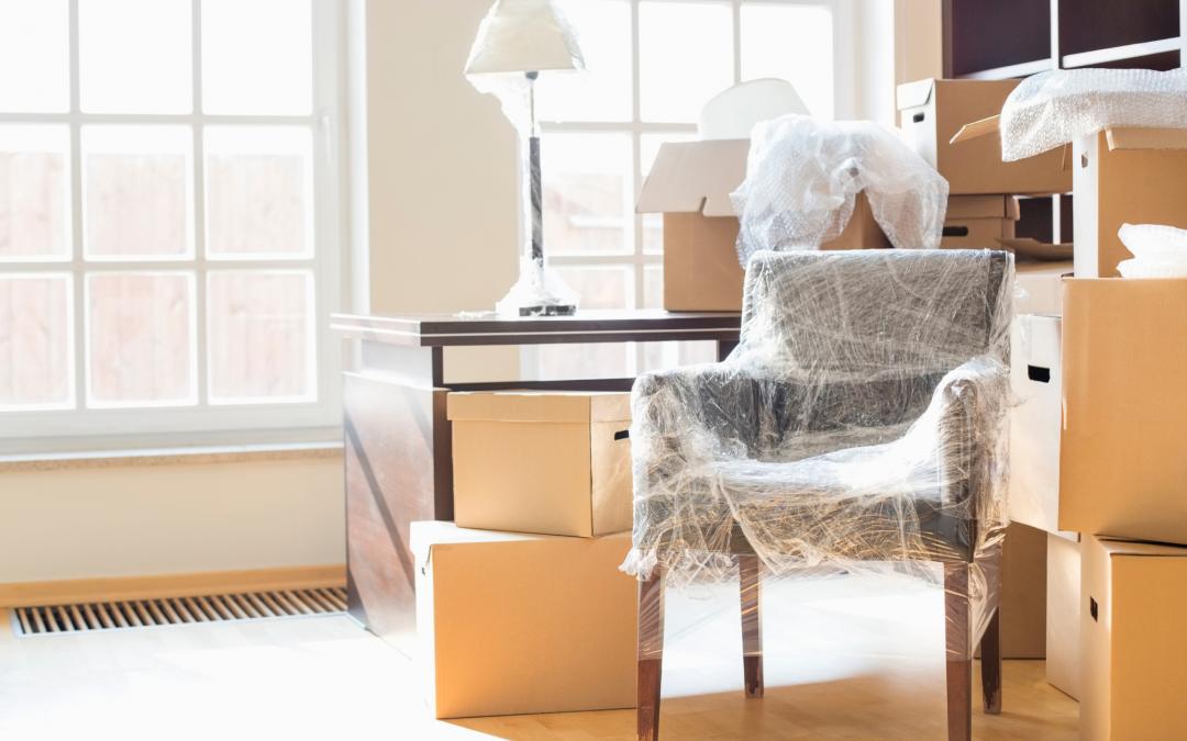 Cartons et déménagement