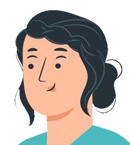 Illustration de visage de femme